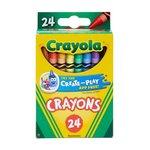 CRAYONS ASST STANDARD 24PK BOX